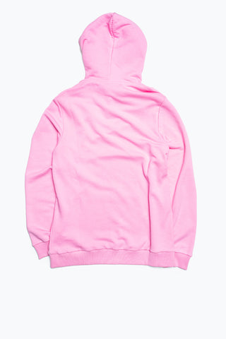 HYPE PINK DRAWCORD WOMEN'S PULLOVER HOODIE