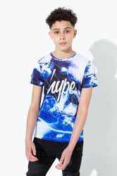 HYPE LIGHTNING SPACE KIDS T-SHIRT