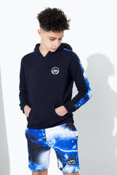 HYPE LIGHTNING SPACE TAPE KIDS PULLOVER HOODIE