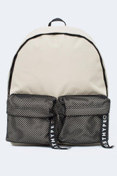 HYPE SAND MESH DOUBLE POCKET BACKPACK