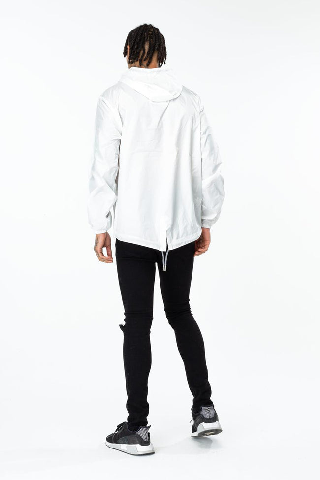 HYPE WHITE CREST MENS FISHTAIL JACKET