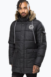 HYPE BLACK EXPLORER MENS JACKET