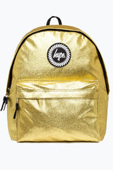 HYPE GOLD GLITTER BACKPACK