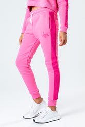 HYPE PINK ON PINK KIDS JOGGERS