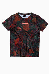SOCIETY SPORT WINTER LEAF T-SHIRT