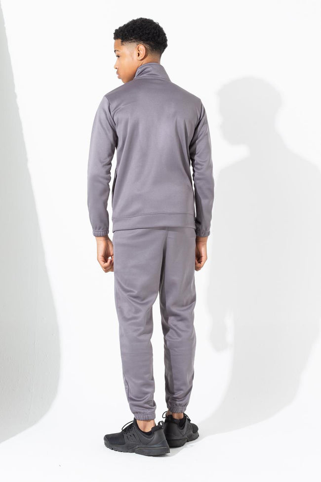 HYPE GREY SLIM KIDS TRACKSUIT