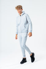 HYPE GREY KIDS TRACKSUIT SET