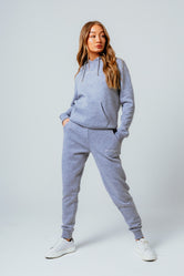 HYPE GREY SCRIBBLE WOMEN'S TRACKSUIT