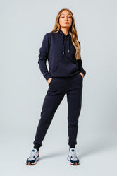 HYPE NAVY SCRIBBLE WOMEN'S TRACKSUIT