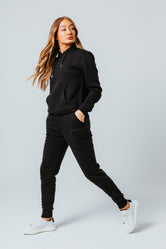 HYPE BLACK SCRIBBLE WOMEN'S TRACKSUIT