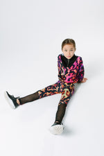 HYPE X RIVER ISLAND PINK ANIMAL KIDS LEGGINGS