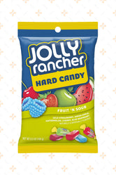 JOLLY RANCHER FRUIT & SOUR FLAVOURS HARD CANDY 184G