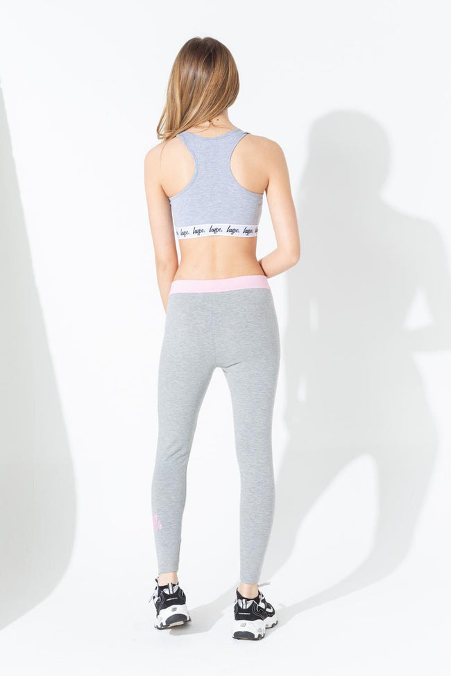 HYPE GREY TAPED KIDS BRALET