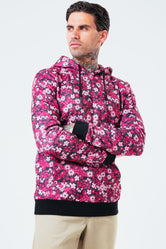 HYPE HAND FLORAL MEN'S PULLOVER HOODIE