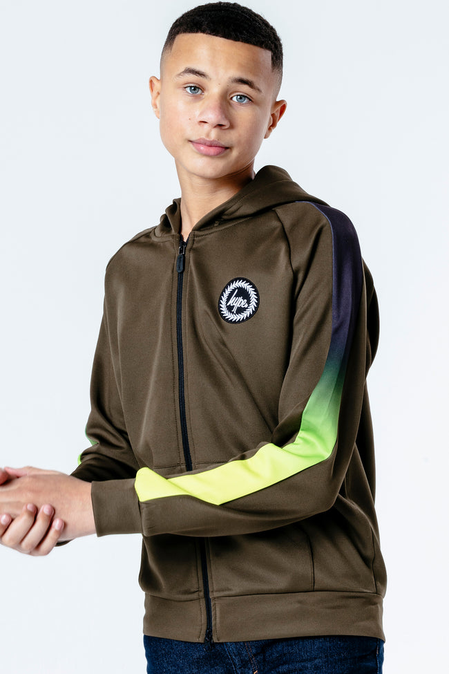 HYPE NEON FADE KIDS TRACK JACKET