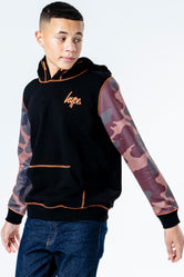 HYPE MA93 CAMO KIDS PULLOVER HOODIE