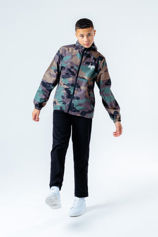 HYPE CAMO RUNNER KIDS JACKET