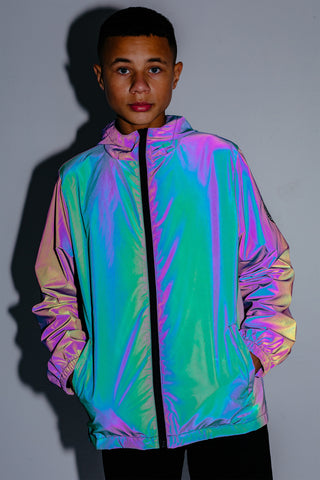 HYPE IRIDESCENT RUNNER KIDS JACKET