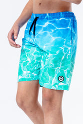 HYPE POOL FADE KIDS SWIM SHORTS