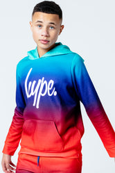 HYPE MINT FADE KIDS PULLOVER HOODIE