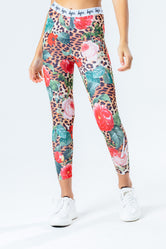 HYPE JUNGLE LEOPARD KIDS LEGGINGS