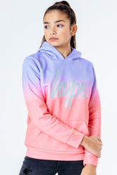 HYPE PEACH FADE KIDS PULLOVER HOODIE