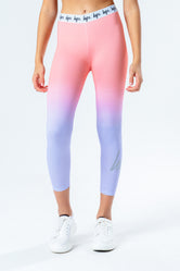 HYPE PEACH FADE KIDS LEGGINGS