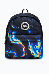 HYPE RAINBOW MARBLE BACKPACK
