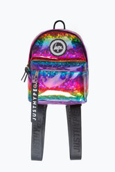 HYPE RAINBOW GLITTER MINI BACKPACK