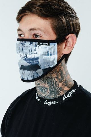 Hype Mens Freeze Face Mask