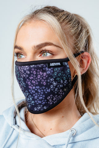 HYPE WOMENS LAVENDER FACE MASK