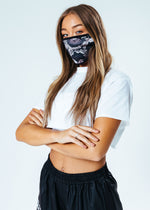 HYPE WOMENS SERPENTINE FACE MASK