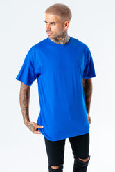 HYPE BLUE OVERSIZED MEN'S T-SHIRT