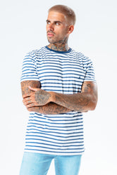 HYPE BLUE STRIPE MEN'S T-SHIRT