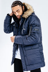 HYPE NAVY EXPLORER MEN'S JACKET