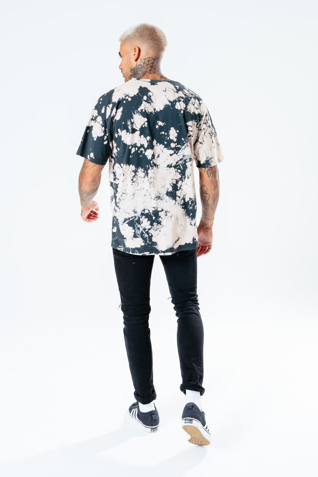 HYPE BLEACH OVERSIZED MEN'S T-SHIRT