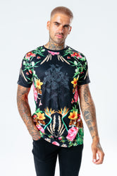 HYPE FLORAL LEOPARD MEN'S T-SHIRT