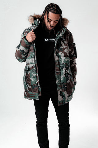 Hype Camo Explorer Men'S Jacket
