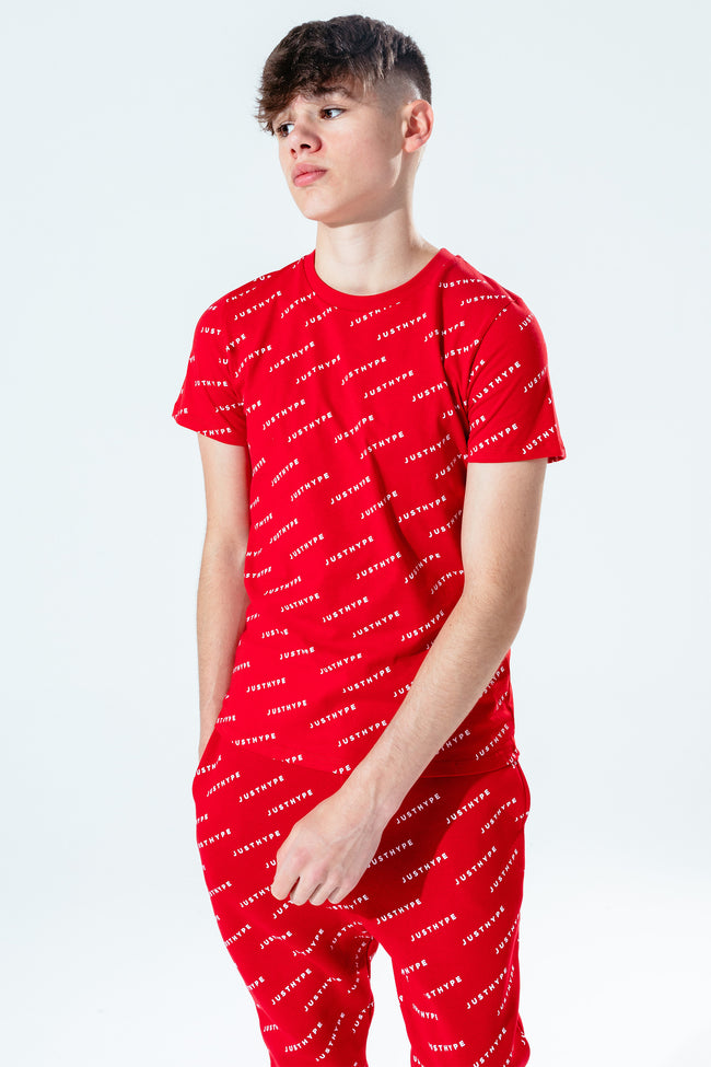 HYPE RED JH REPEAT KIDS T-SHIRT