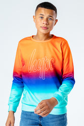 HYPE LUCKY FADE KIDS CREW NECK