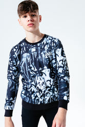 HYPE MONO MARKER PEN KIDS CREW NECK