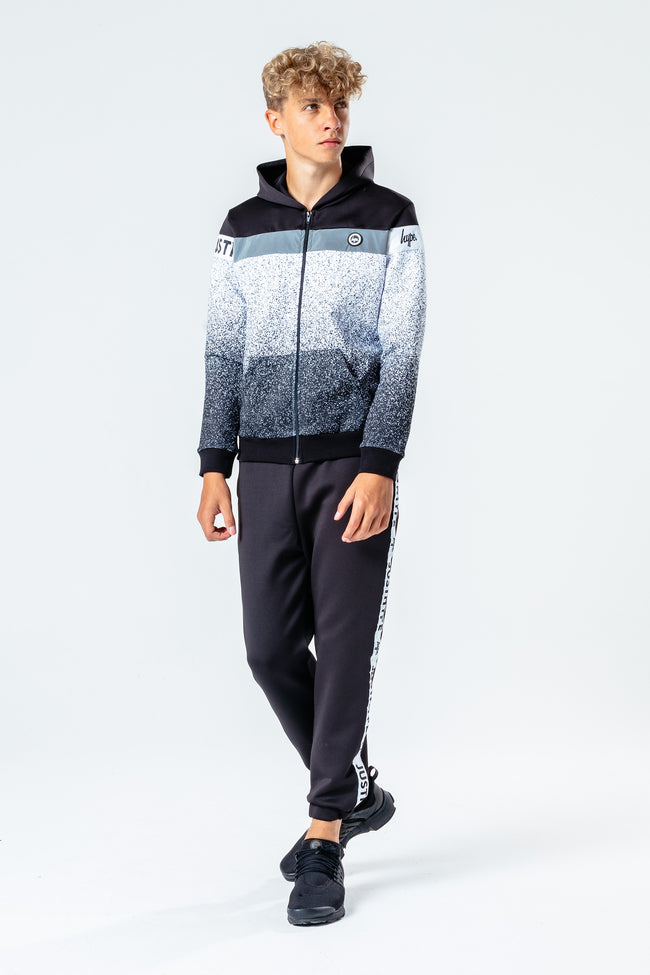 Hype Speckle Fade Poly Kids Zip Hoodie