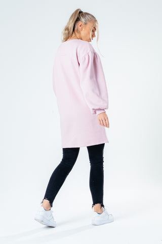 Hype Balloon Sleeve Women'S Sweat Dress