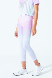HYPE PASTEL DRIPS KIDS LEGGINGS