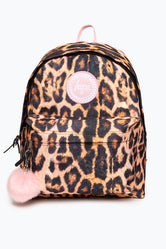 HYPE BLUSH LEOPARD BACKPACK