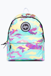 HYPE PASTEL HOLO CAMO BACKPACK