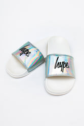 HYPE SILVER HOLO KIDS SLIDERS