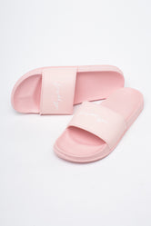 HYPE PINK SIGNATURE WOMEN'S SLIDERS
