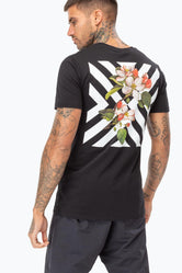 HYPE CHEVRON BLOOM MENS T-SHIRT