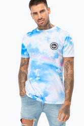 HYPE RAINBOW STAR MENS T-SHIRT